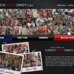 Czech Home Orgy Discount Login