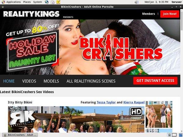 Bikini Crashers Username