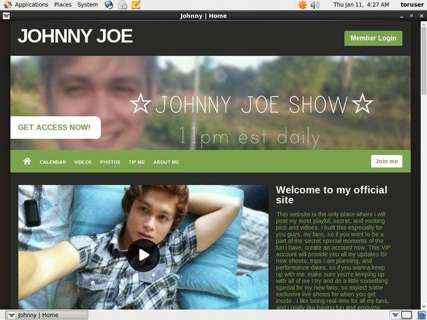 Free Accounts To JOHNNY JOE