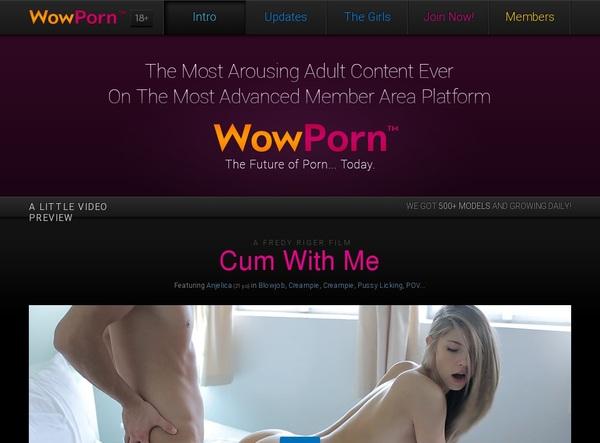 Free Trial On Pornwow