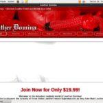 Membership For Leatherdomina.com