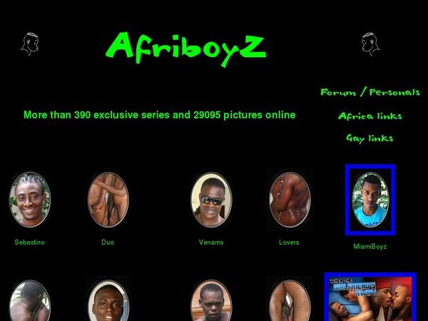 Free Afri BoyZ Coupon