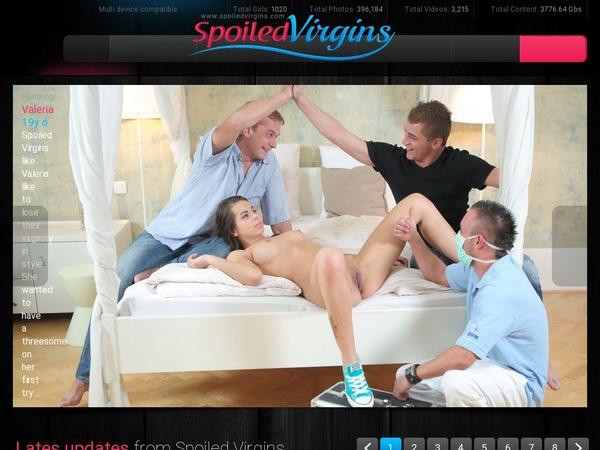 Spoiled Virgins Paypal Deal